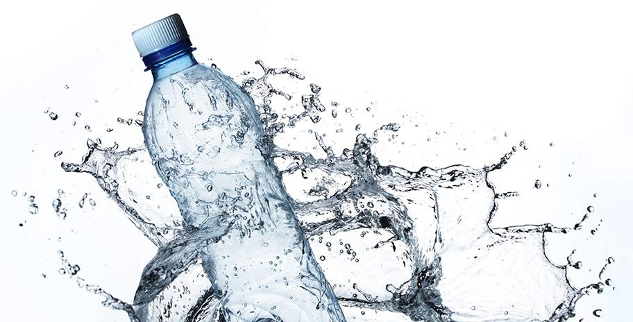 Reklam på vattenflaskor